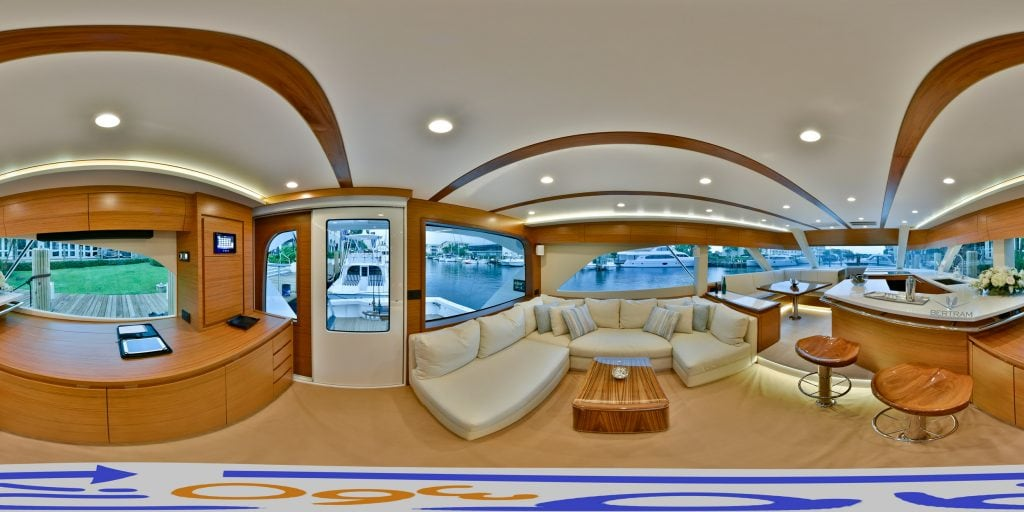 Bertram-Yachts-61-Galley-Entrance-AH360