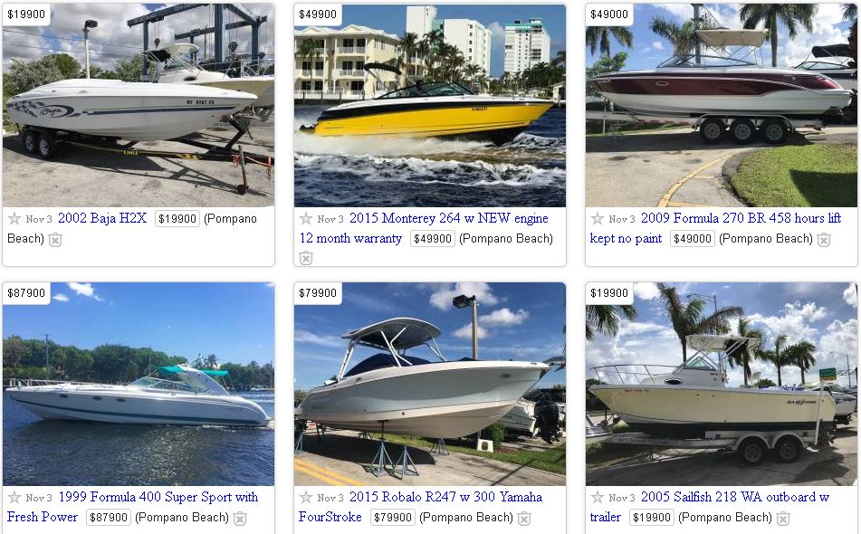 Boats For Sale On CraigsList