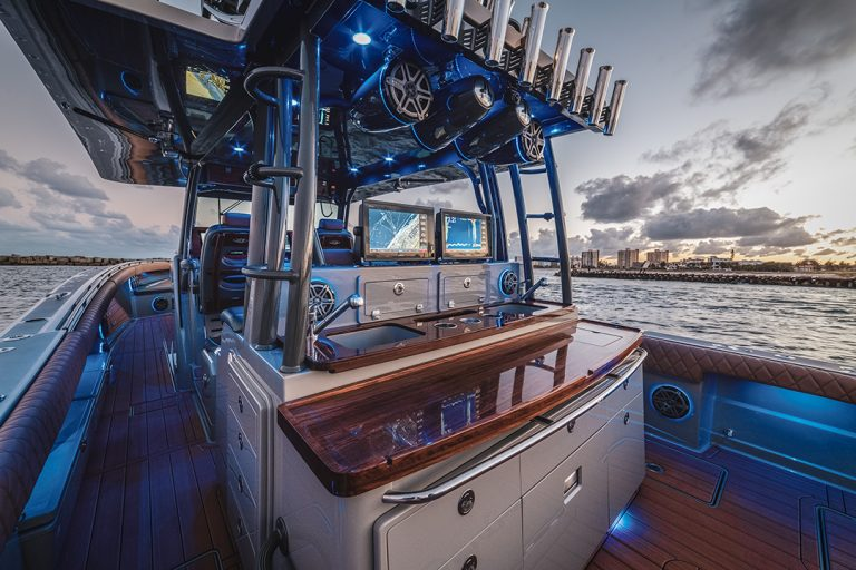 HCB Yachts 53 Suenos With Garmin Electronics