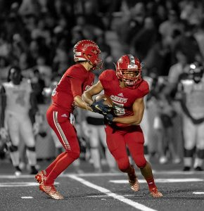 Cardinal-Gibbons-Football-Handoff
