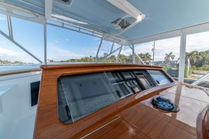 Merritt Sport Fishing Boat Helm Electronics 2
