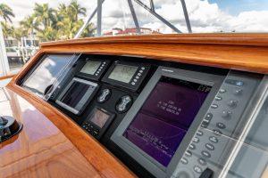 Merritt Sport Fishing Boat Helm Electronics