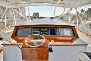 Merritt Sport Fishing Boat Helm