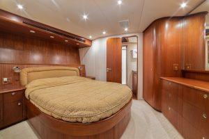 Merritt Sport Fishing Boat Interior Stateroom