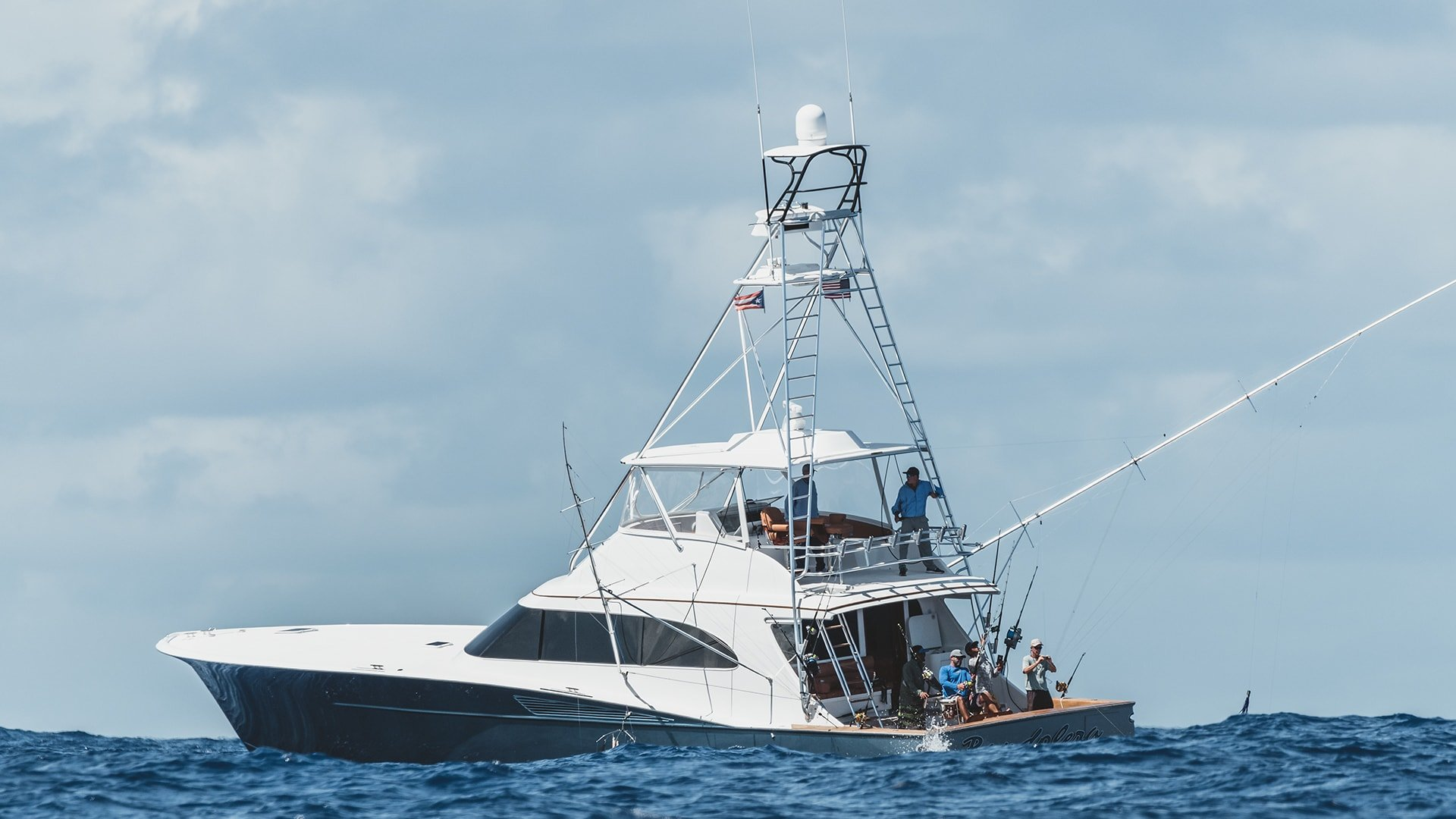 Spencer Yacht Fishing For Marlin