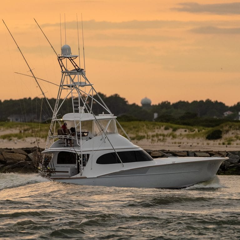 Sportfishing Yacht at the 2019 White Marlin Open
