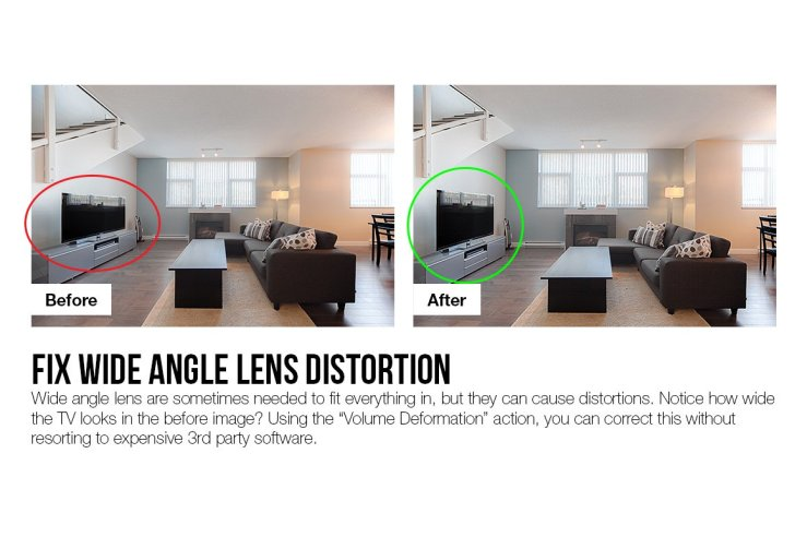 Wide Angle Lens Distortion In Real Estate Photography
