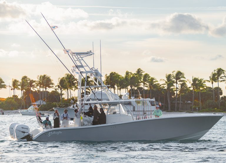 Yellowfin Yachts Center Console Boat With Tuna Tower