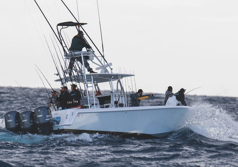 Contender Boats Fishing at JJFishWeek 2019