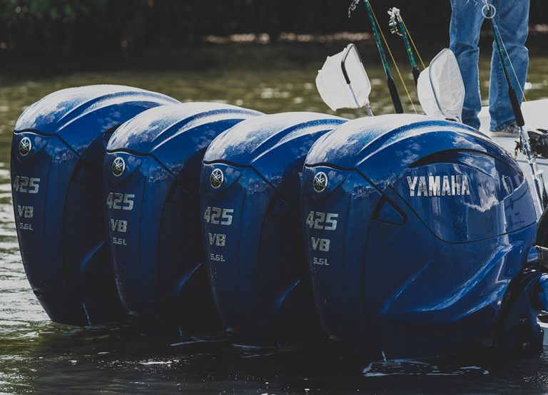 Quad Yamaha Outboards FFMD Fishing Team
