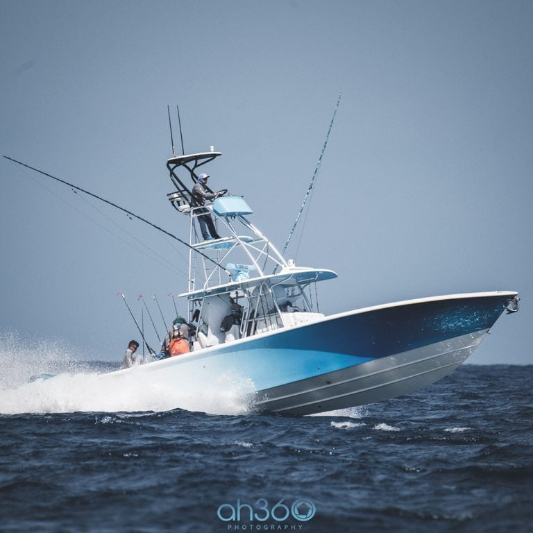 Seavee Boats Blue Tails Fishing Team