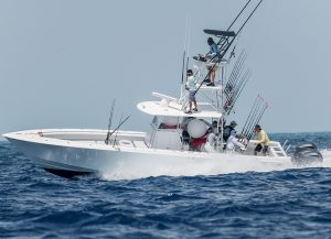 Contender Center Console Boat In Fishing tournament