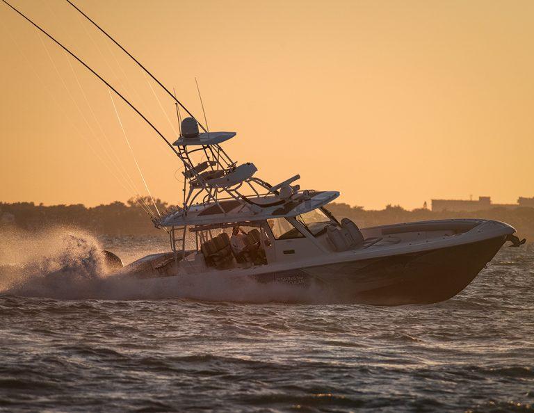 Everglades Center Console Boat In Miami Florida