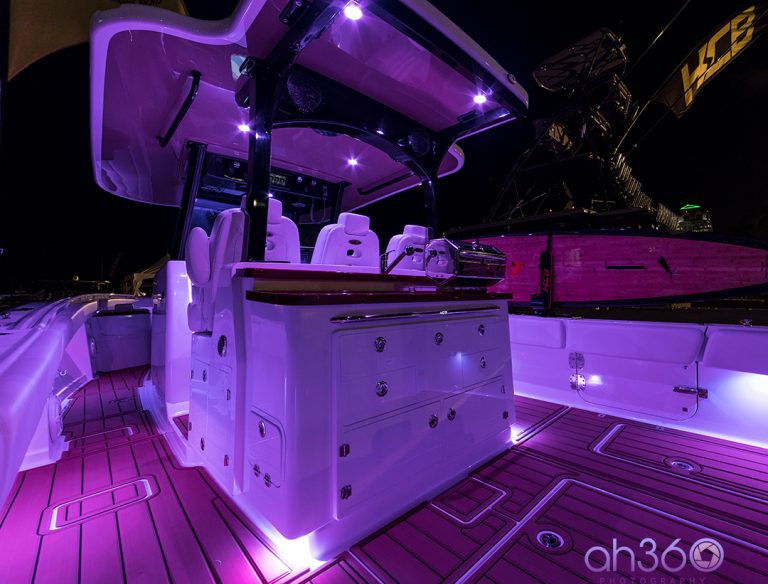 HCB Yachts 40ft Center Console Fishing Boat