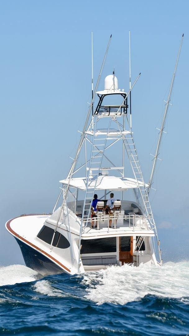 Hatteras sportfishing Yacht