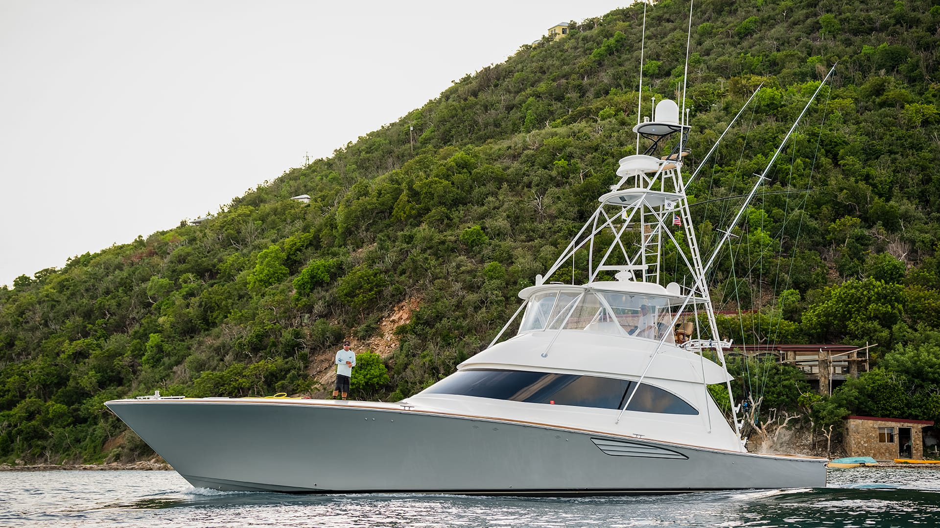 Viking Sportfishing Yacht Gray