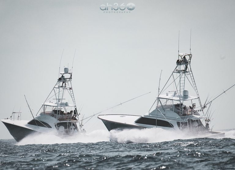 Sport Fishing Yachts In Fishing Tournament
