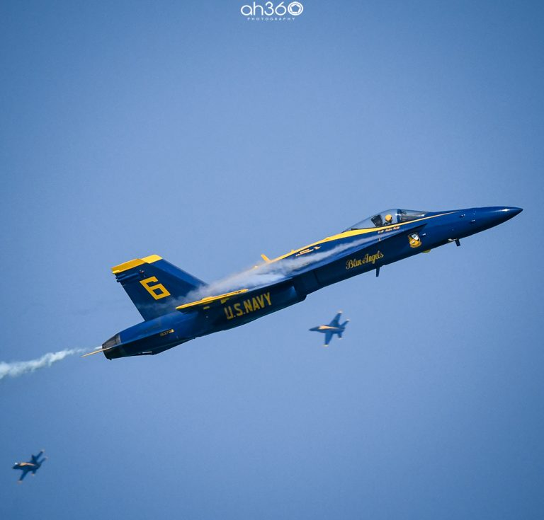 US Navy Blue Angels at Miami Air And Sea Show 2019