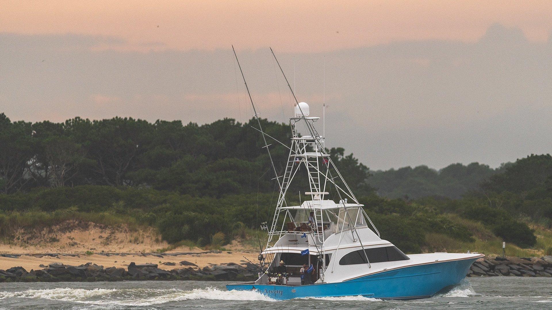 2019 White Marlin Open Blue Sport Fishing Boat