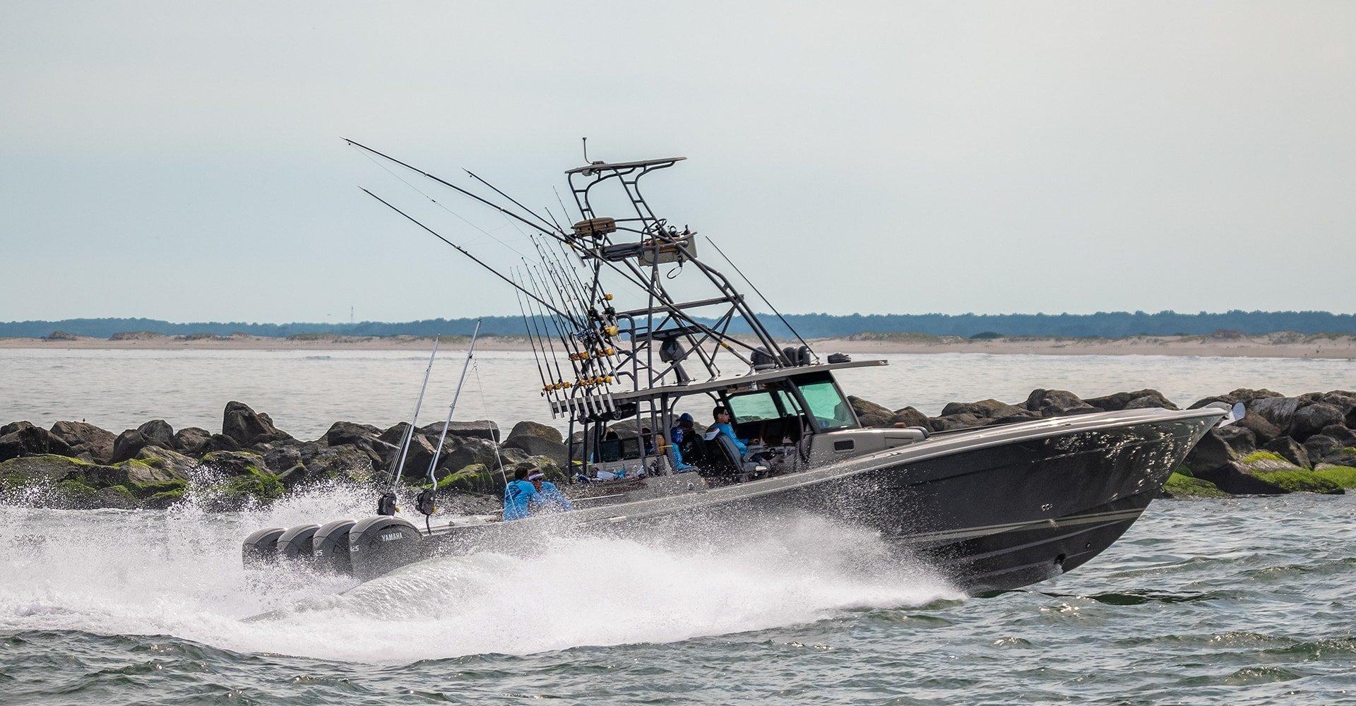 Sir'Reel Fishing Team HCB Yachts 53 Suenos