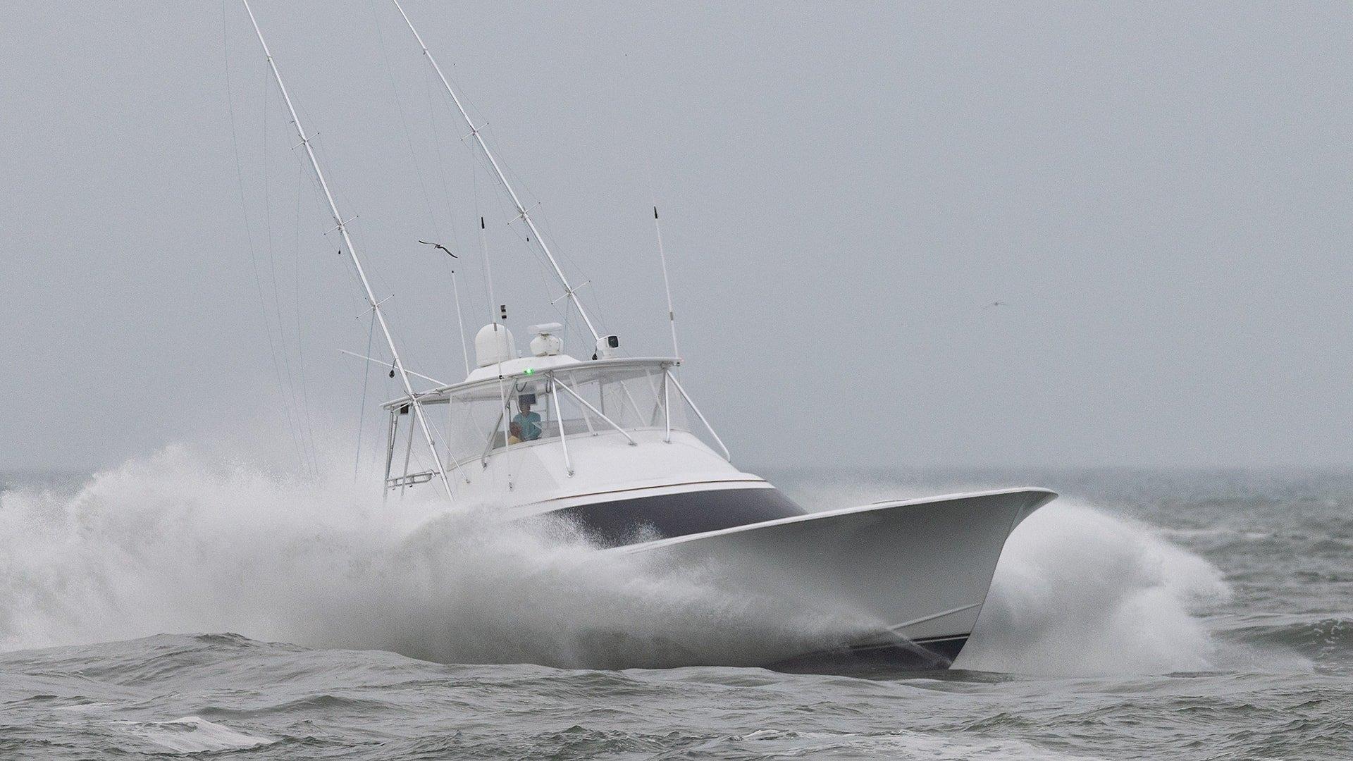 Sportfishing Boat In Ocean City Maryland