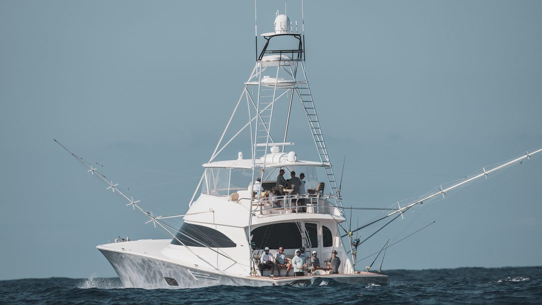 Michael Jordan In The White Marlin Open