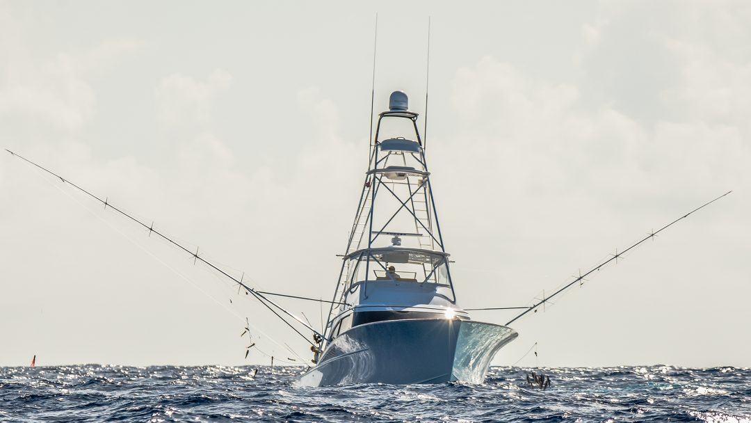 Custom Sportfishing Boat in the British Virgin Islands