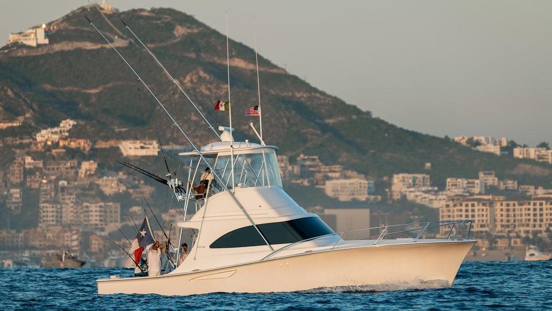 Small Viking Sportfish Yacht