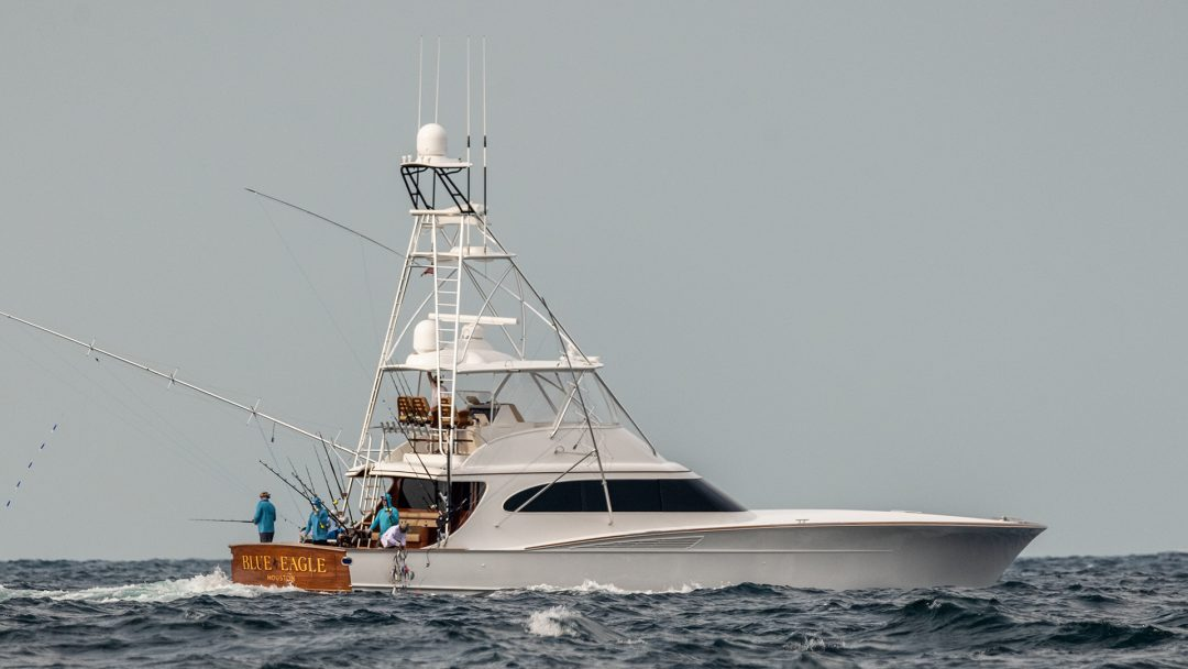 Spencer Fishing Yacht Named Blue Eagle