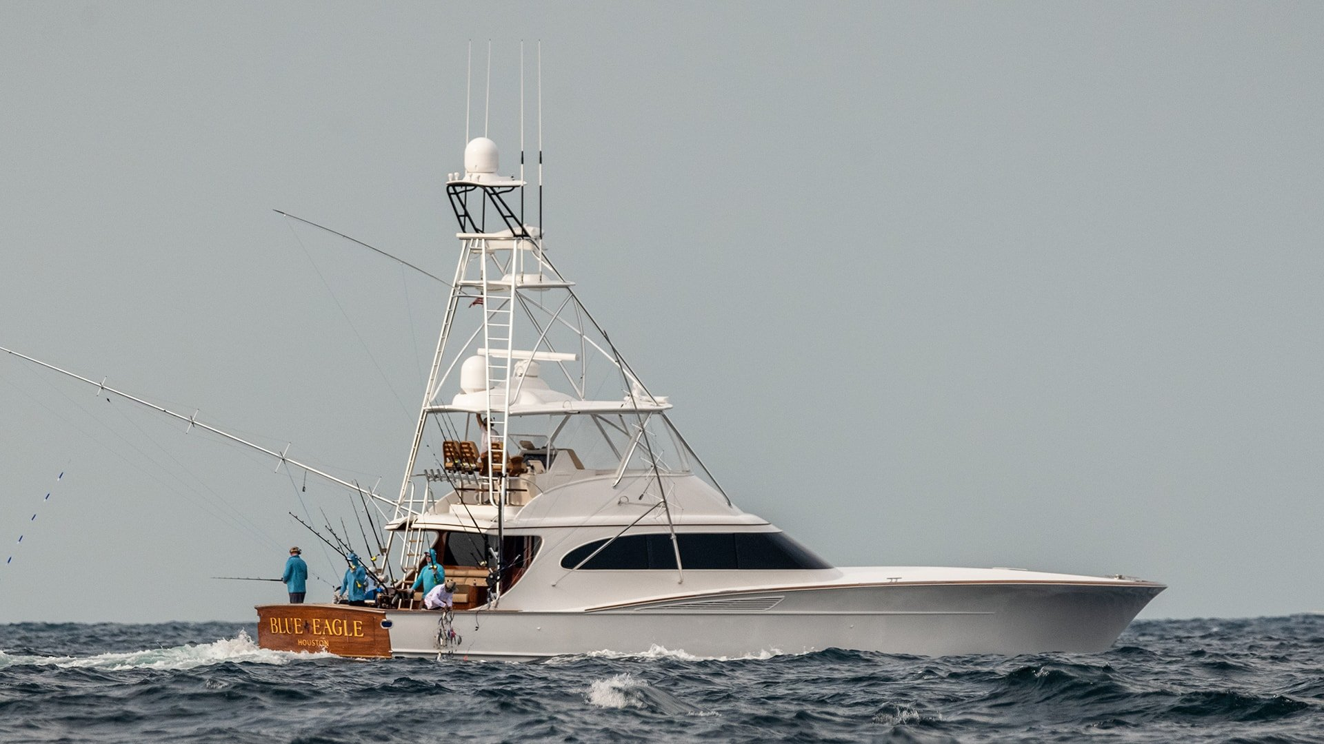 Spencer Fishing Yacht Named Blue Eagle