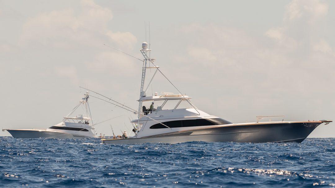 Sportfish Boats In The British Virgin Islands