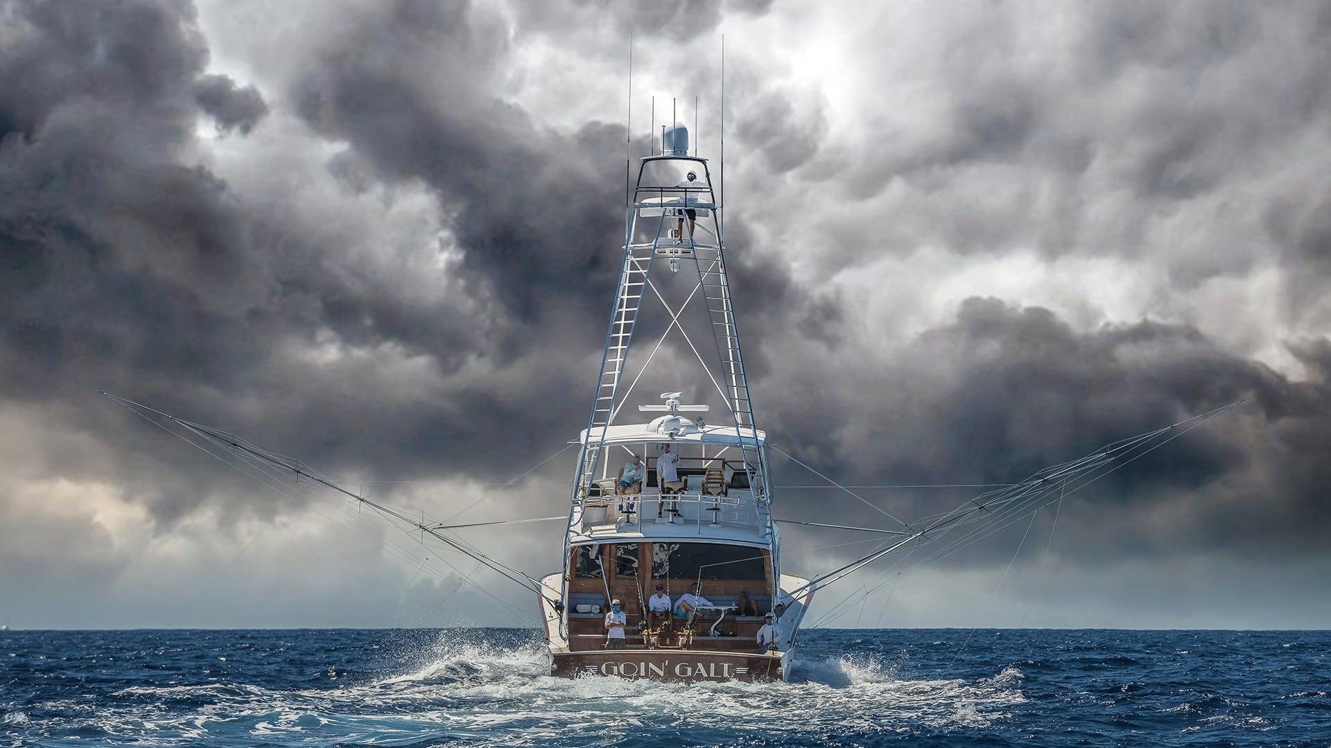 Weaver Boat Works Fishing Yacht