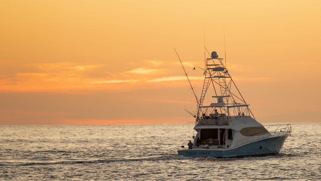 Hatteras Fishing Boat True Grit