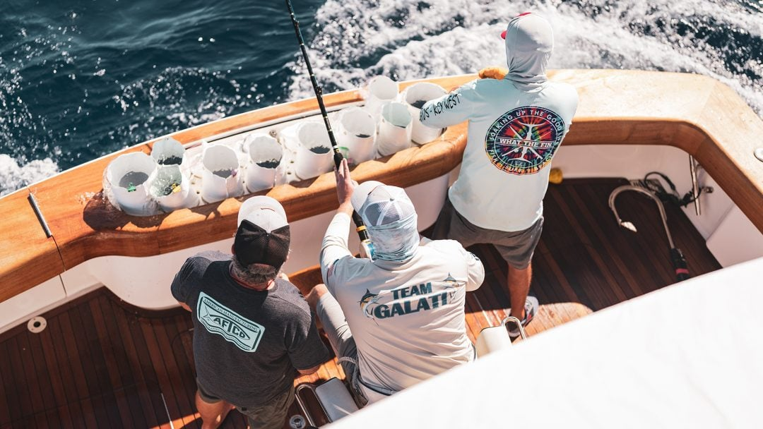 Galati Yacht Sales fishing team Bisbees Cabo